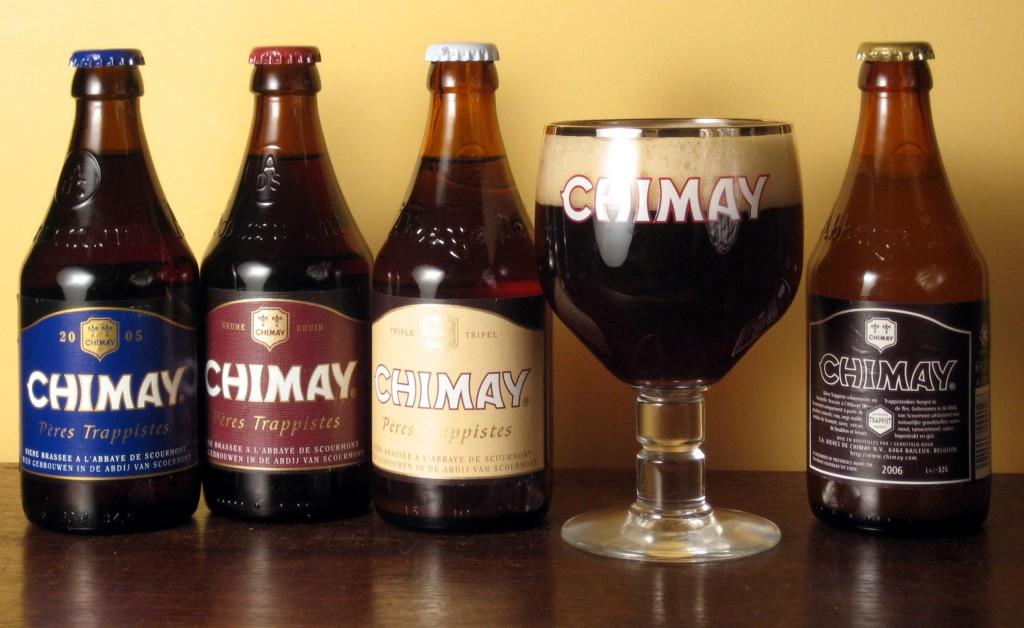 Belgian Chimay Beer