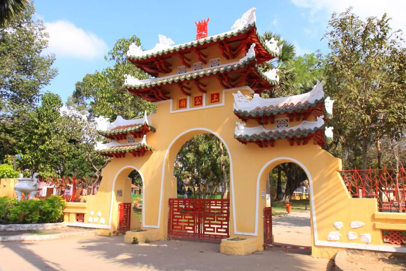 The Temple Lang Ong – Ba Chieu in Saigon