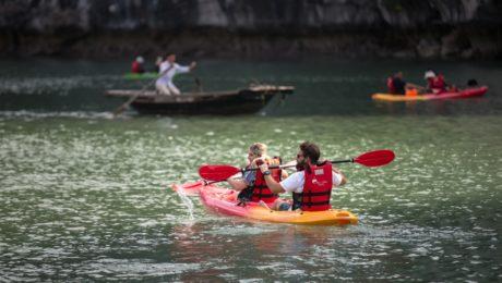 Kayaking in Lan Ha Bay - Things to Do in Hanoi for a Week